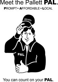 Pallett Mascot